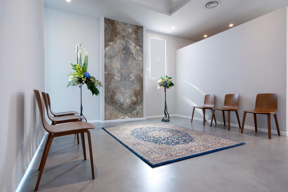 Sala del commiato e casa funeraria di Crema - Agenzia onoranze funebri Gatti