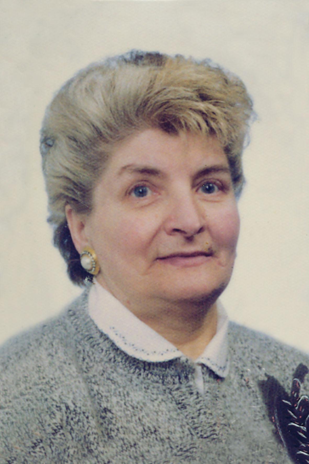 Antonia Maria Chiesa - Necrologio